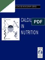 Calcium in Nutrition