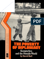 The Poverty of Diplomacy