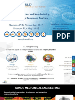 Workflows in NX Product and Manufacturing Information PMI for Design and Analysis