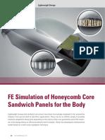FE Simulation of Honeycomb