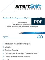 Cutting Edge Database Technology Powered by Oracle Now With 12C Webinar Slides