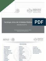 Catalogo Unico de Unidades Medicas