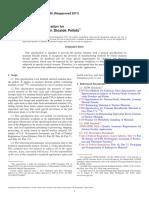 C776-06(2011) Standard Specification for Sintered Uranium Dioxide Pellets