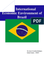 The International Economic Environment of Brazil