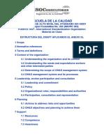 Estructura de alto nivel del Standard ISO 45001