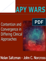Therapy Wars; Contention and Convergence in Differing Clinical Approaches, 1990