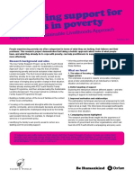 Improving Support for Families Living in Poverty
