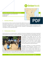 Re-Integration of Ex-Combatants in Burundi
