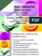 Operatii Power Point