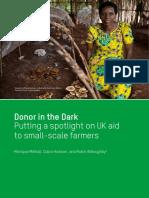 Donor in the Dark