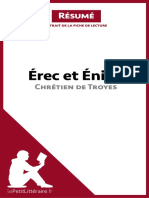 Chrétien de Troyes - Erec Et Enide (Résumé)
