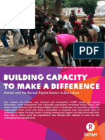 Building Capacity to Make a Difference