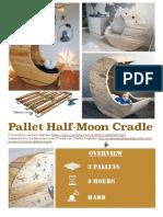 DIY Tutorial Pallet Half Moon Cradle 1001Pallets