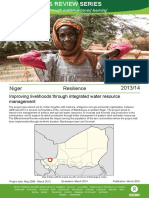 Resilience in Niger