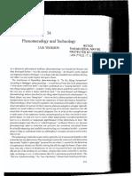 Phenomenology and Technology