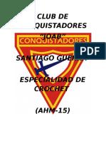 Club de Conquistadores Informe