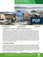Humanitarian Quality Assurance – Philippines