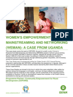 Women's Empowerment Mainstreaming and Networking (WEMAN)