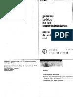 Texier. Gramsci Teorico de Las Superestructuras