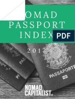 Nomad Passport Index 2017