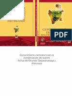 Conocimiento campesino en la conservacion de suelos POTOSI