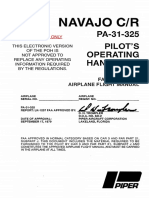 PA·31 ·325 Navajo CR Pilot's Operating