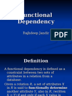 26FFunctional Dependency(Jandir)