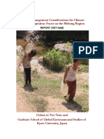 Drought-Management Considerations for Climate-Change Adaptation