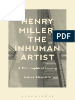 Manniste, Indrek_ Miller, Henry-Henry Miller, The Inhuman Artist _ a Philosophical Inquiry-Bloomsbury Academic (2013)