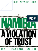 Namibia a Violation of Trust