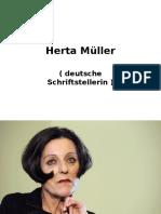 Herta Müller Präsentation - Njemacka Ljubavna Lirika I