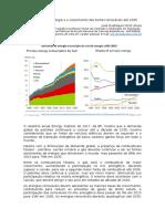 A demanda de energia e o crescimento das fontes renováveis até 2035