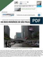 Os rios invisíveis de São Paulo e do mundo