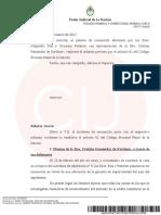 Resolución de Ariel Lijo