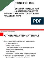 Bi Apps Architecture Presentation