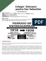 Guía Informativa. 3. 9º Periodo Entre Guerrras....