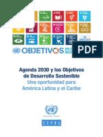 Agenda 2030. Objetivos Desarrollo Sostenible