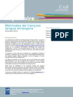 Répertoire Des Méthodes FLE
