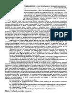Fichamento - O Desenvolvimentismo de Furtado - Ricardo Bielschowsky