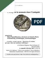 Poster Numismatique
