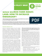 When Women Farm India's Land