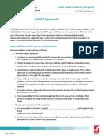 Intern Preceptor Guild ITP Agreement