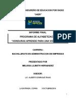 Instituto Hondureño de Educacion Por Radio