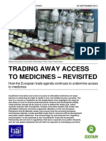 Trading Away Access to Medicines - Revisited