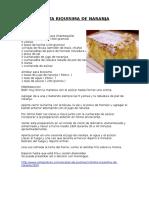 Torta Riquisima de Naranja
