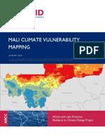 Mali Climate Vulnerability Mapping