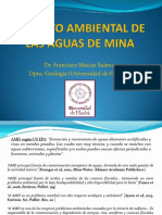 Impacto Ambiental de Las Aguas de Mina