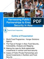 Harnessing Public Private Partnerships to Ensure Food Security in Asia