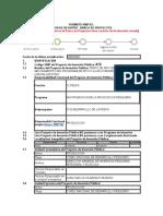 Formato Snip en Evaluacion