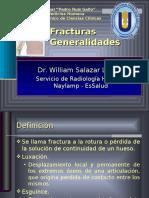 Generalidades de La Fracturas